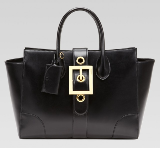 Gucci Lady Buckle Top Handle Bag