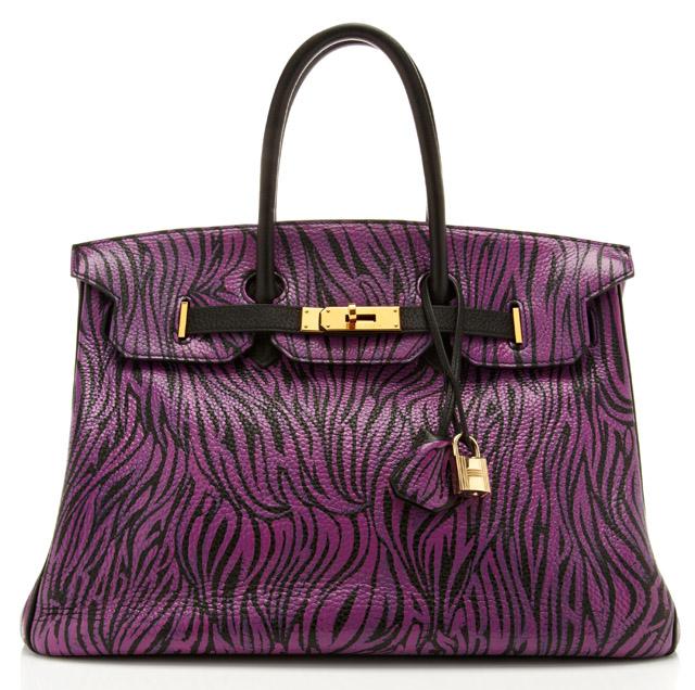 Moda Operandi Exclusive: Hermes Birkin Bag Graffiti'd by artist Travis W. Simon