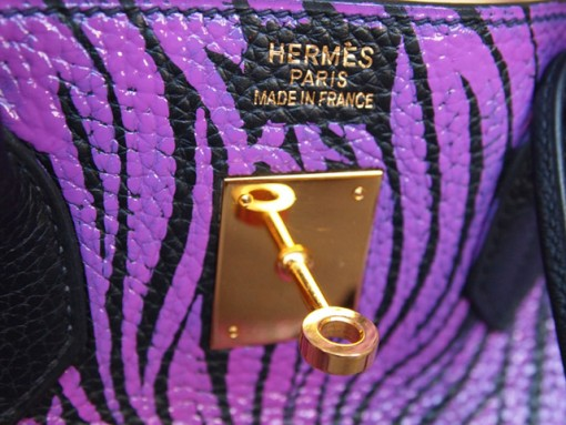 Moda Operandi Exclusive: Hermes Birkin Bag Graffiti'd by artist Travis W. Simon