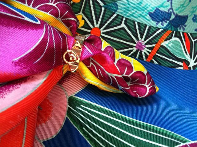 Hermes Scarf and Ring