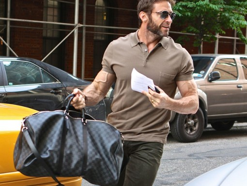 And Now For Something a Bit Different: Hugh Jackman and Louis Vuitton