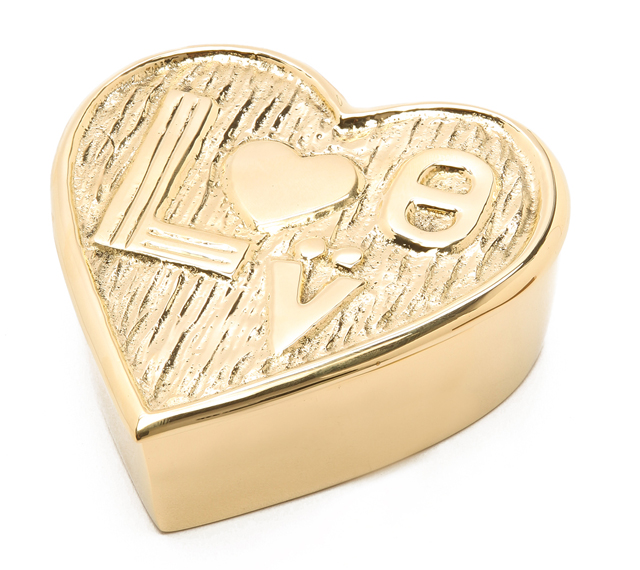Jonathan Adler Brass Love Box