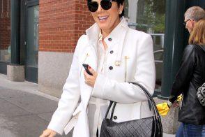 Kris Jenner carries a black Chanel Hula Hoop Flap Bag (5)