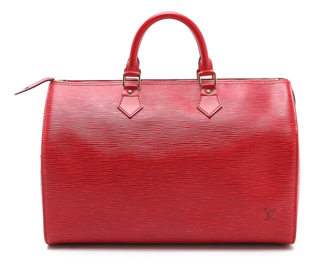 Louis Vuitton Epi Speedy Bag from What Goes Around Comes Around