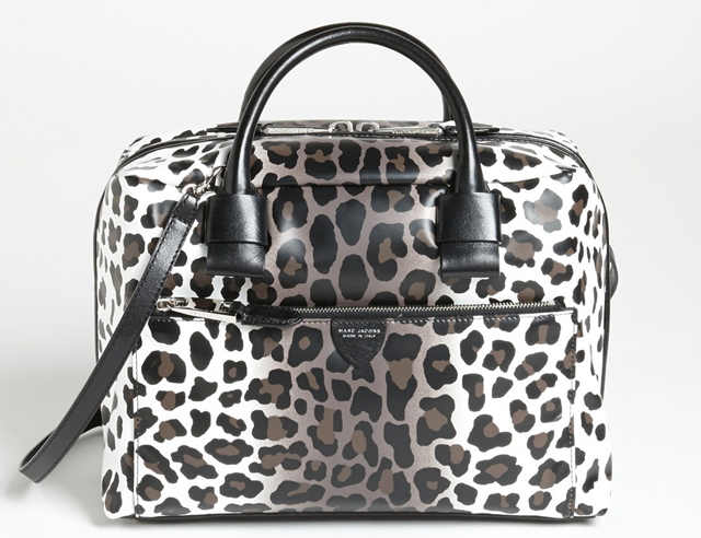 Marc Jacobs Small Antonia Leopard Satchel