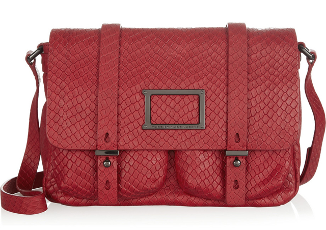 Marc by Marc Jacobs Werdie Snake Effect Messenger Bag