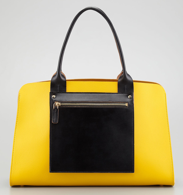 Marni Colorblock Shopping Bag