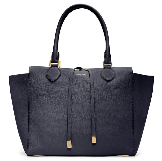 Michael Kors Large Miranda Pebbled Leather