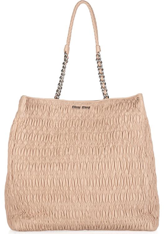 Miu Miu Cloquet Leather Bag