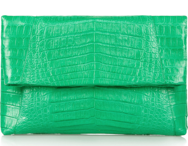 Nancy Gonzalez Crocodile Clutch