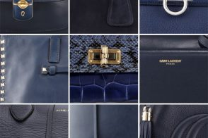 Navy Blue Handbags