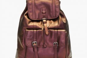 Man Bag Monday: Neil Barrett Copper Iridescent Brasilia Backpack