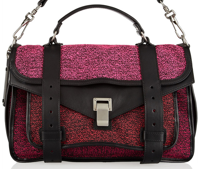 Proenza Schouler Tweed PS1 Bag