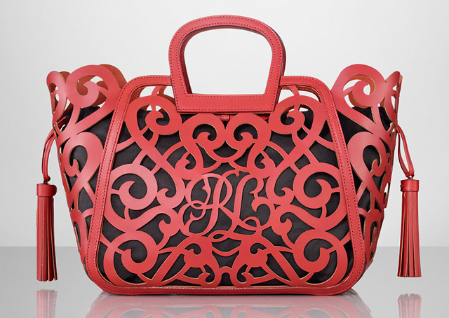 Think you know what to expect from Ralph Lauren s handbags  Think ... 91daea7163568