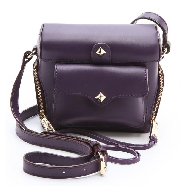 Rebecca Minkoff Craig Camera Bag Purple