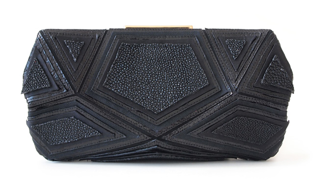 Roger Vivier Shades of Black Pouchette