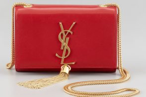Saint Laurent would like to remind you (in bag form) that the YSL logo is not going anywhere