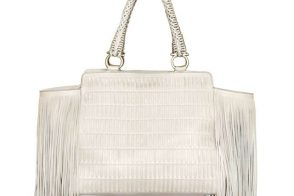 Love It or Leave It: The Salvatore Ferragamo Verve Fringe Woven Bag