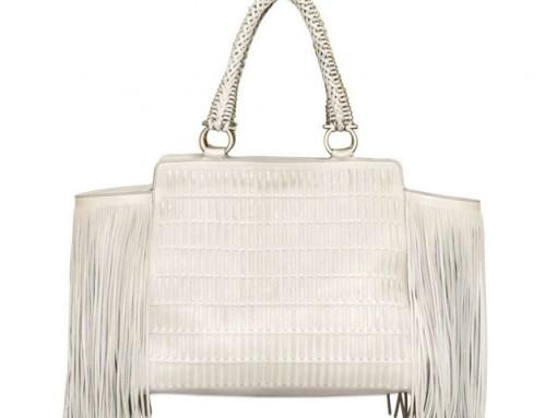 Love It or Leave It: The Salvatore Ferragamo Verve Fringe Woven Bag