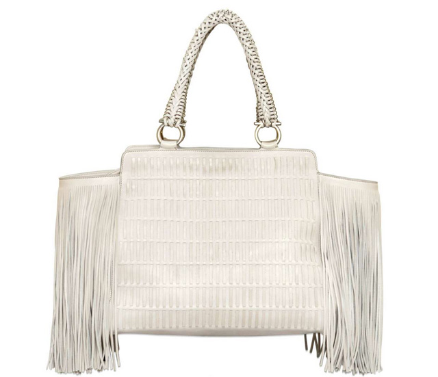 Love It or Leave It  The Salvatore Ferragamo Verve Fringe Woven Bag ... 866571f49d6f7