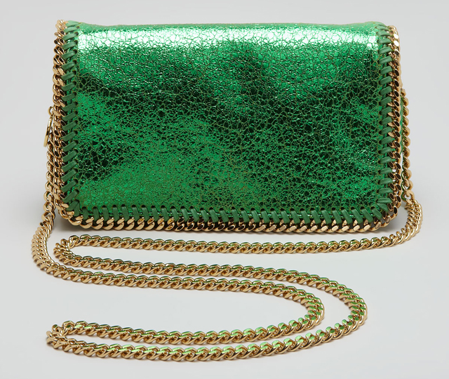 Stella McCartney Crackled Crossbody Bag