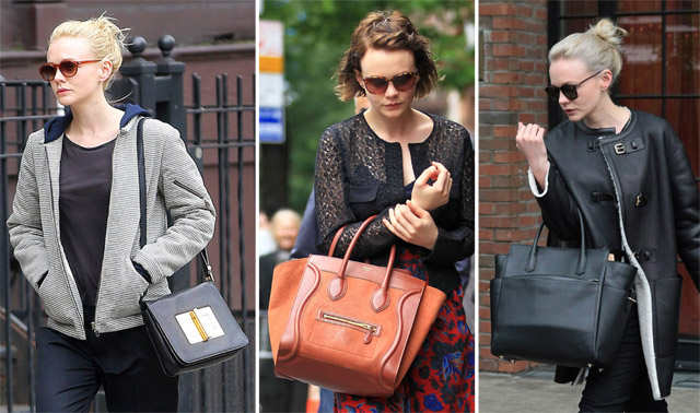 The Many Bags of Carey Mulligan