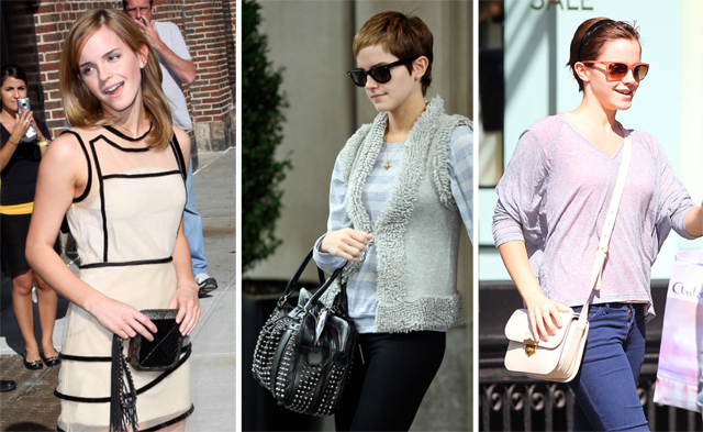 The Many Bags of Emma Watson