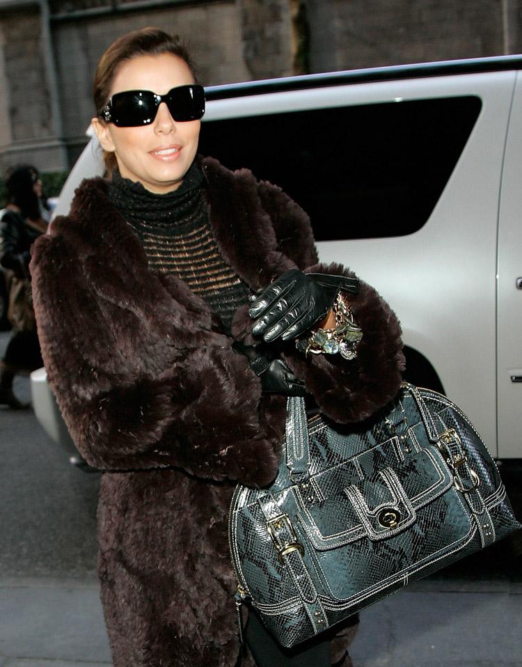 The Many Bags of Eva Longoria (1)