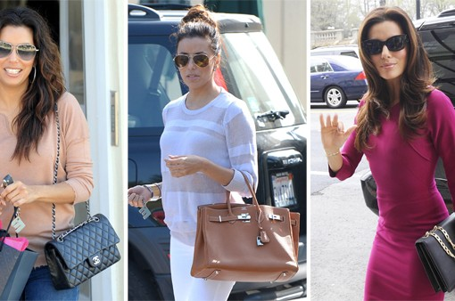 The Many Bags of Eva Longoria