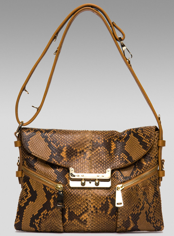 VBH Vee Python Shoulder Bag