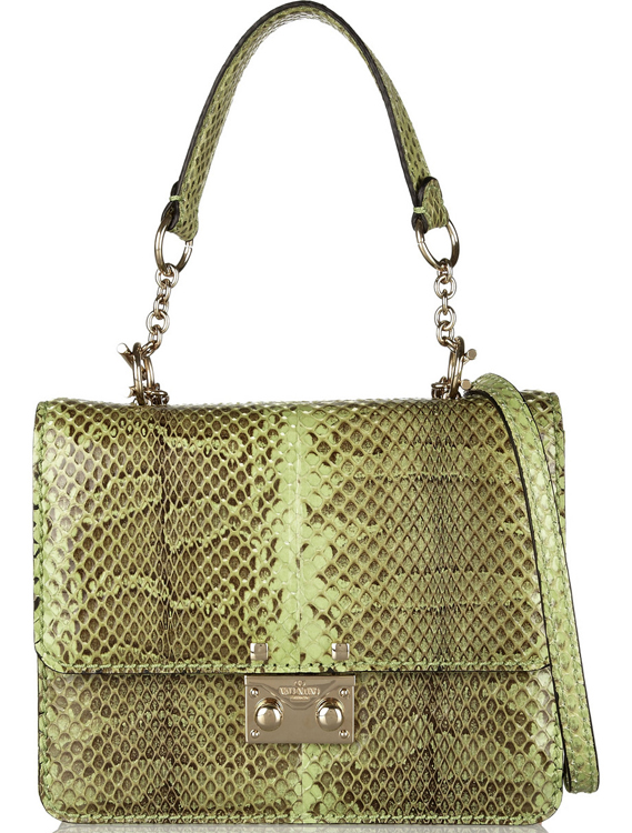 Valentino Python Bag
