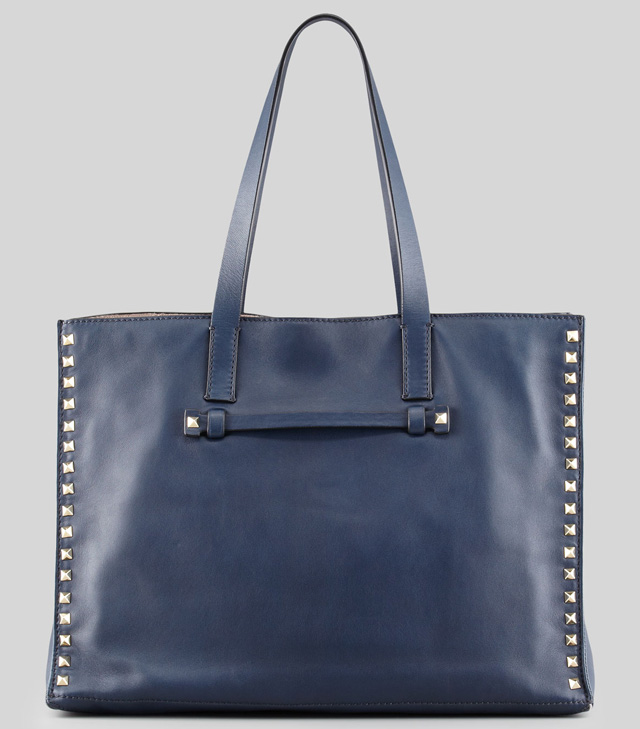 Valentino Rockstud Medium Shopping Tote