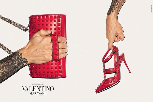 Valentino Rockstud Terry Richardson Ad Campaign