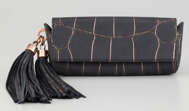 Z Spoke Zac Posen Claudette Tassel Clutch