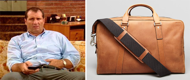 Al Bundy and Jack Spade Small Eaton Bag