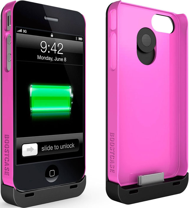 Boostcase Hyrbid iPhone Battery Pack Case