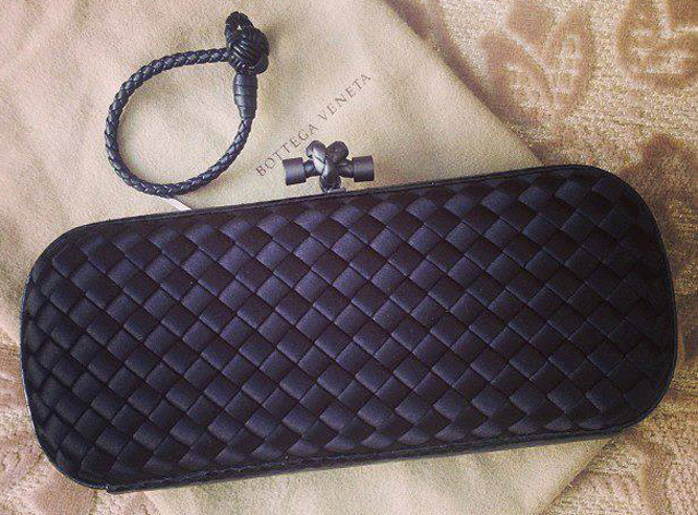 Bottega Veneta Elongated Knot Clutch