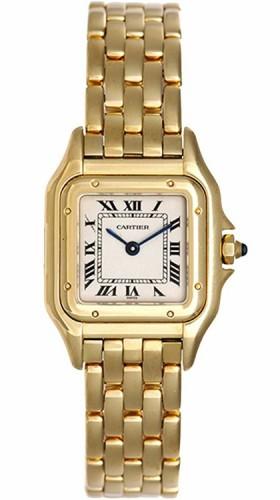 Cartier Panther 18k Gold Watch