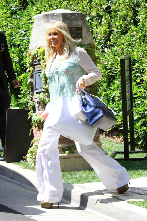 Celebs attend Kim Kardashian's baby shower (2)