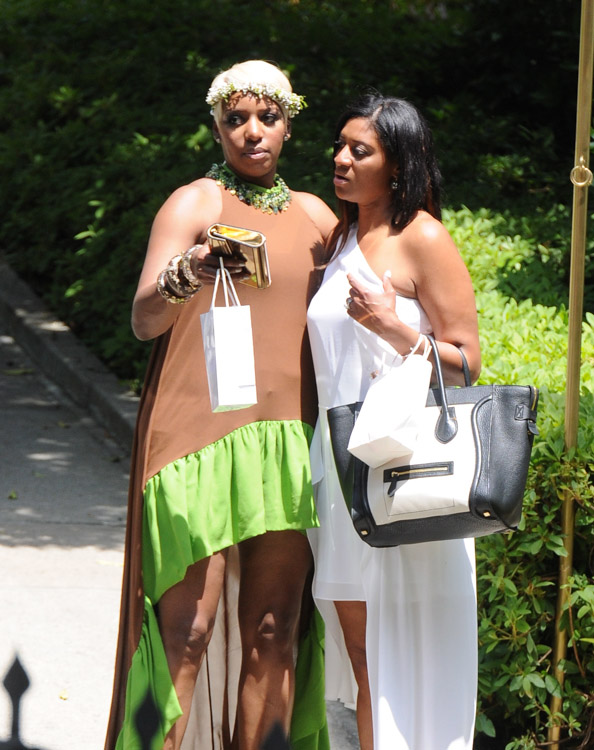 Celebs attend Kim Kardashian's baby shower (13)
