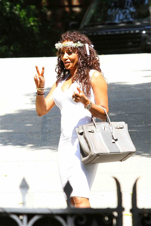 Celebs attend Kim Kardashian's baby shower (1)