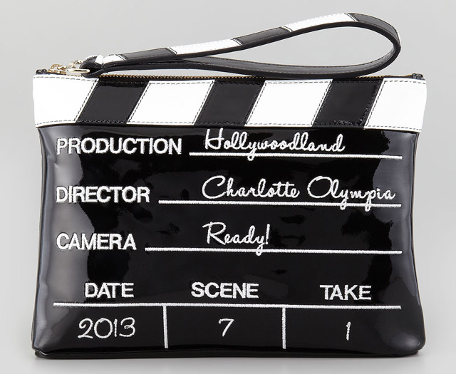 Charlotte Olympia Lights! Camera! Action! Clutch