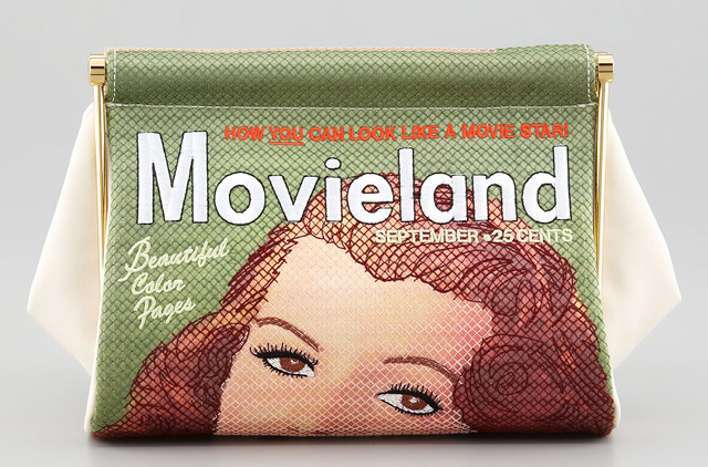 Charlotte Olympia Movieland Magazine Clutch