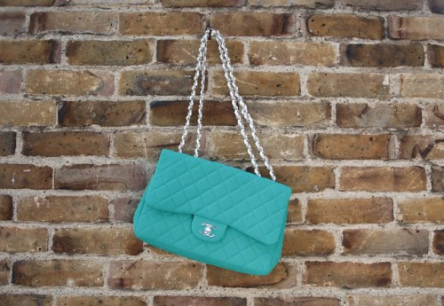 Chanel Green Flap Bag