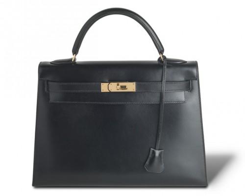 Hermes Kelly Bag Black