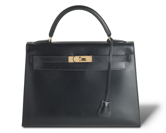 Hermes Kelly Bag Black