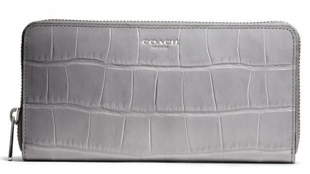 Coach Legacy Accordion Zip Wallet