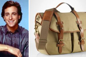 Danny Tanner and Polo Ralph Lauren Canvas Messenger Bag