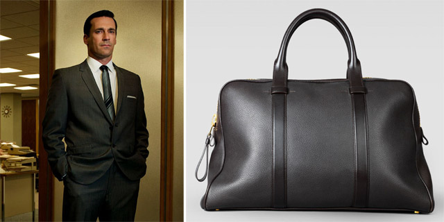 Don Draper and Tom Ford Small Buckley Duffel