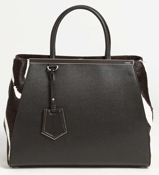 Fendi 2Jour Calf Hair Shopper